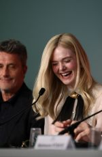 ELLE FANNING at Jury Press Conference at Cannes Film Festival 05/14/2019