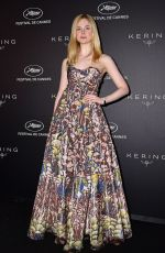 ELLE FANNING at Kering Women in Motion Awards at Cannes Film Festival 05/19/2019