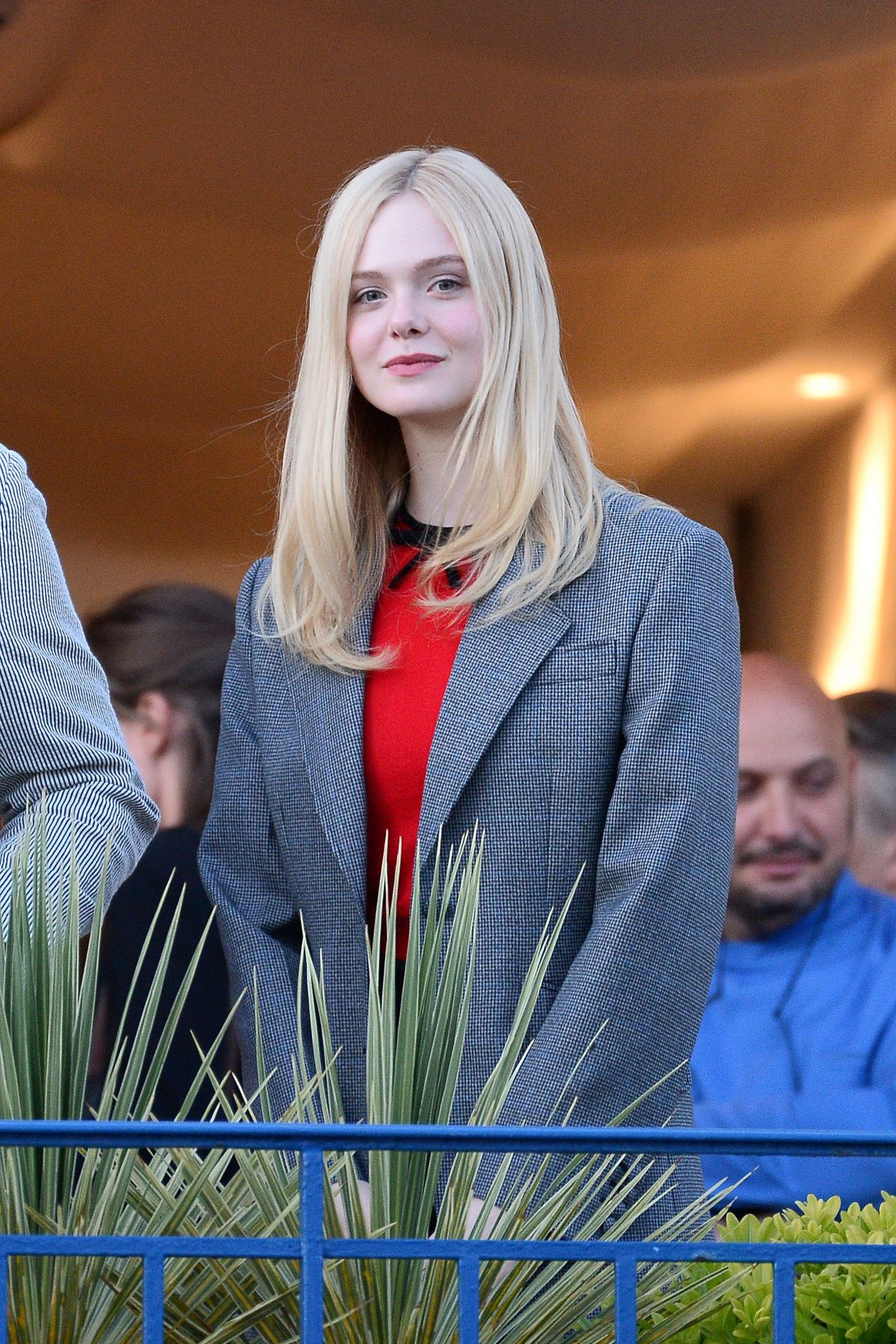 ELLE FANNING at Martinez Hotel in Cannes 05/13/2019 ...