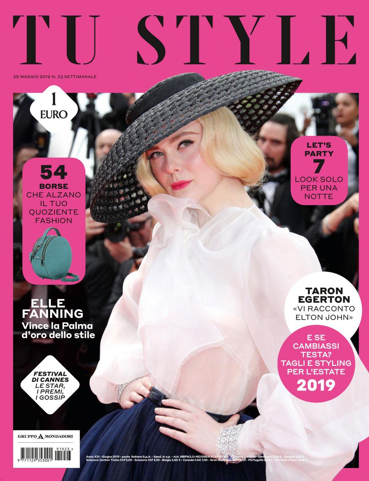 Tustyle Magazine November 2015 Issue: ELLE FANNING In Tu Style Magazine, May 2019