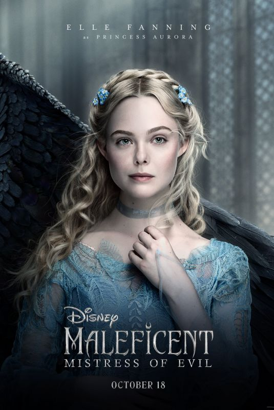 ELLE FANNING - Maleficent: Mistress of Evil Poster and Trailer
