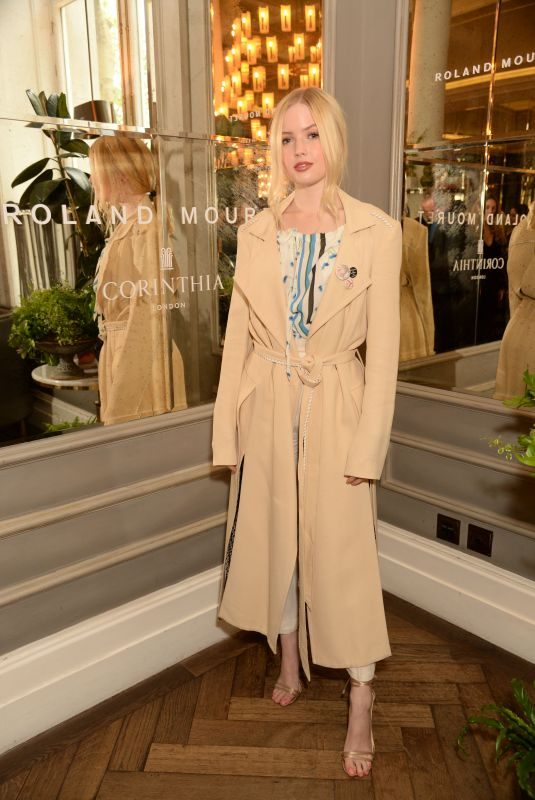 ELLIE BAMBER at Women in Film Luncheon in London 05/01/2019