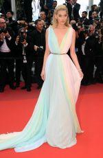 ELSA HOSK at A Hidden Life Premiere in Cannes 05/19/2019