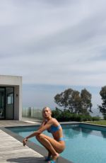 ELSA HOSK in Bikini in Cannes - Instagram Pictures, May 2019