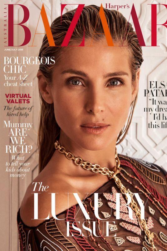 ELSA PATAKY in Harper's Bazaar Magazine, Australia June 2019