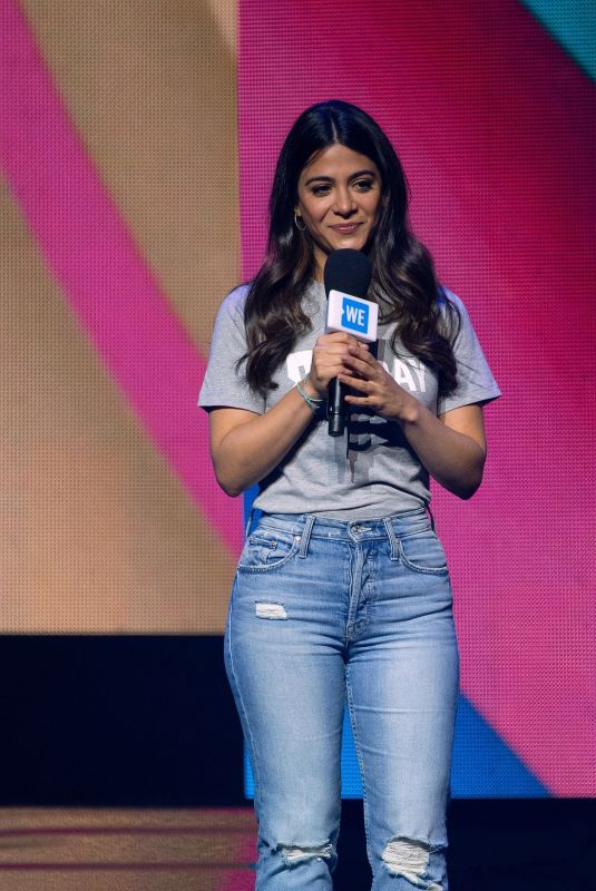 EMERAUDE TOUBIA at We Day in Chicago 05/08/2019