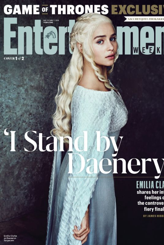 EMILIA CLARKE in Entertainment Weekly, May/June 2019