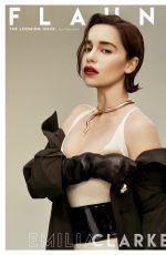 EMILIA CLARKE in Flaunt Magazine, 2019