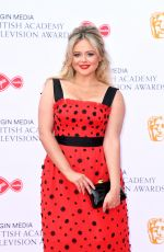 EMILY ATACK at Virgin Media British Academy Television Awards 2019 in London 05/12/2019