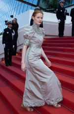 EMILY BEECHAM at 72nd Annual Cannes Film Festival Closing Ceremony 05/25/2019