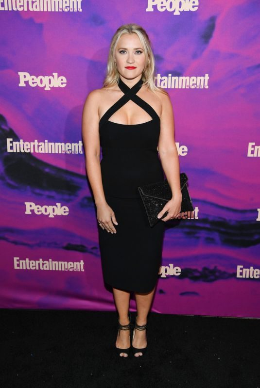 EMILY OSMENT at Entertainment Weekly & People New York Upfronts Party 05/13/2019