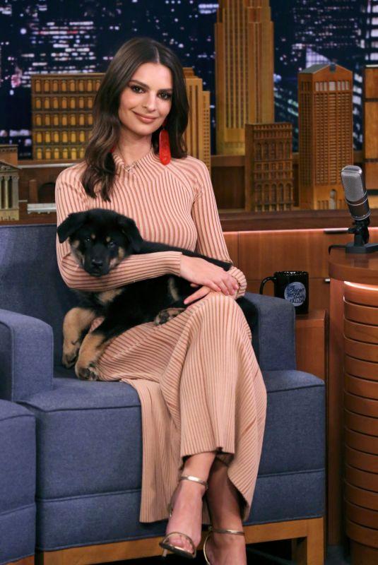 EMILY RATAJKOWSKI at Tonight Show Starring Jimmy Fallon 05/24/2019