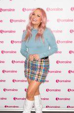 EMMA BUNON at Lorraine Show in London 05/01/2019