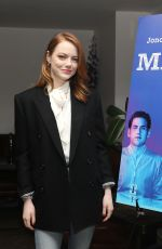 EMMA STONE at Maniac Emmys Screening and Q&A in New York 05/07/2019