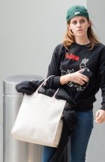 EMMA WATSON at JFK Airport in New York 05/17/2019