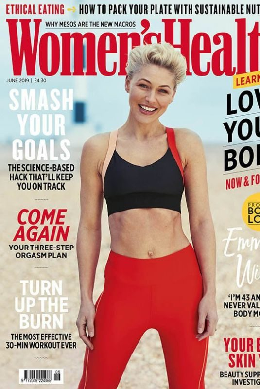 EMMA WILLIS in Women's Health Magazine, UK June 2019
