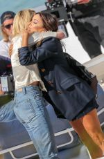 EVA LONGORIA and AMBER HEARD at Martinez Beach in Cannes 05/116/2019