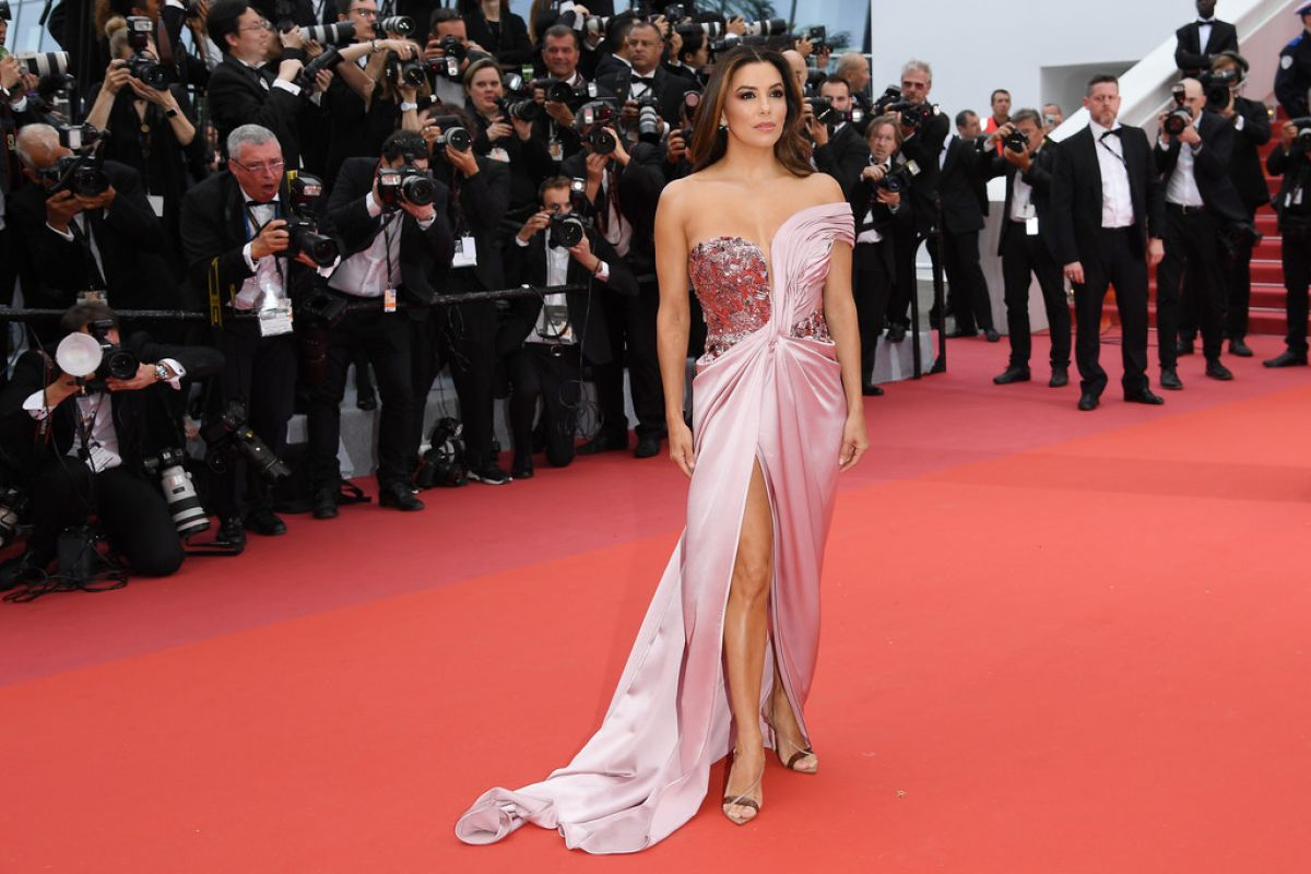 2019 Cannes Film Festival Opening Ceremony: EVA LONGORIA At The Dead Don't Die Premiere And Opening