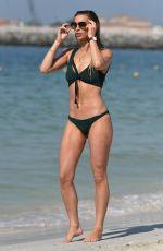 FERNE MCCANN in Bikini at a Beach in Dubai 05/13/2019