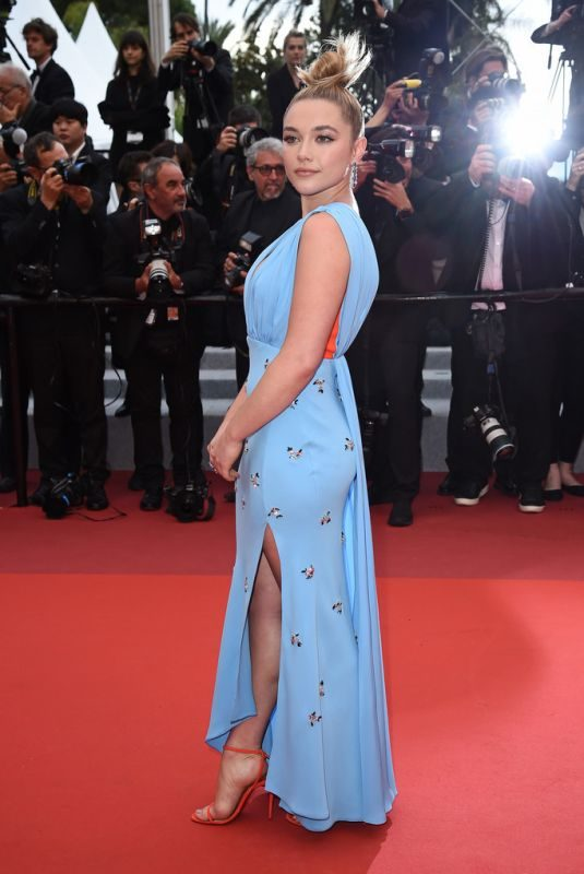 FLORENCE PUGH at La Belle Epoque Screening at 72nd Annual Cannes Film Festival 05/20/2019