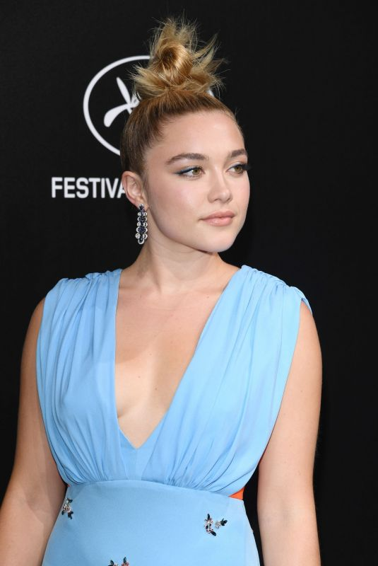 FLORENCE PUGH at Official Trophee Chopard Dinner at Cannes Film Festival 05/20/2019