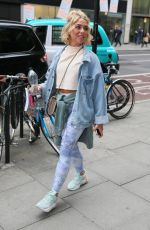 GABBY ALLEN Arrives at AOL Build Ldn in London 05/07/2019