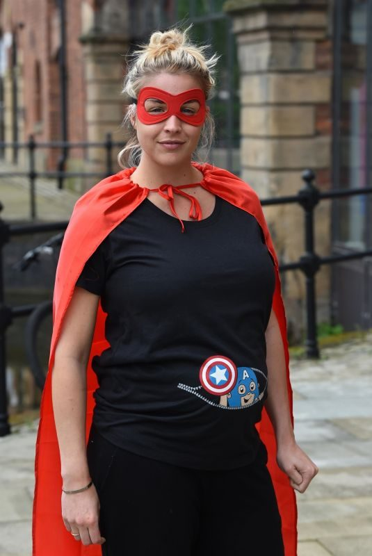 GEMMA ATKINSON at Cash for Kids Super Hero Day in Manchester 05/10/2019