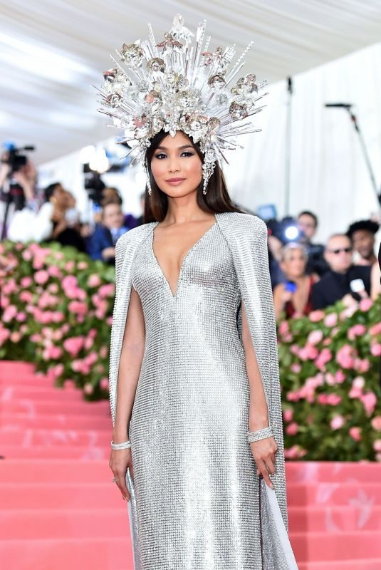 GEMMA CHAN at 2019 Met Gala in New York 05/06/2019