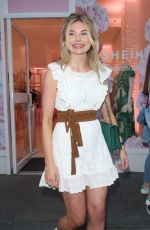 GEOGRIA TOFFOLO Leaves Shein Pop up Shop in London 05/24/2019