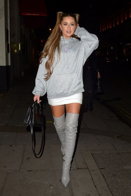 GEORGIA STEEL Out and About in London 05/09/2019