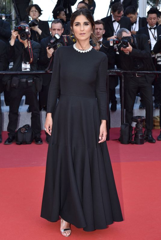 GERALDINE NAKACHE at 72nd Annual Cannes Film Festival Closing Ceremony 05/25/2019