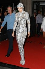 GIGI HADID at Met Gala After-party in New York 05/06/2019
