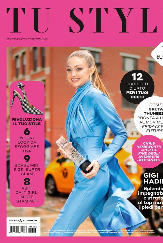 GIGI HADID in Tu Style Magazine, April 2019