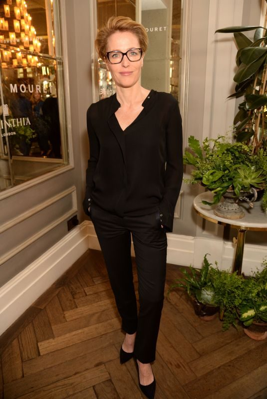 GILLIAN ANDERSON at Women in Film Luncheon in London 05/01/2019