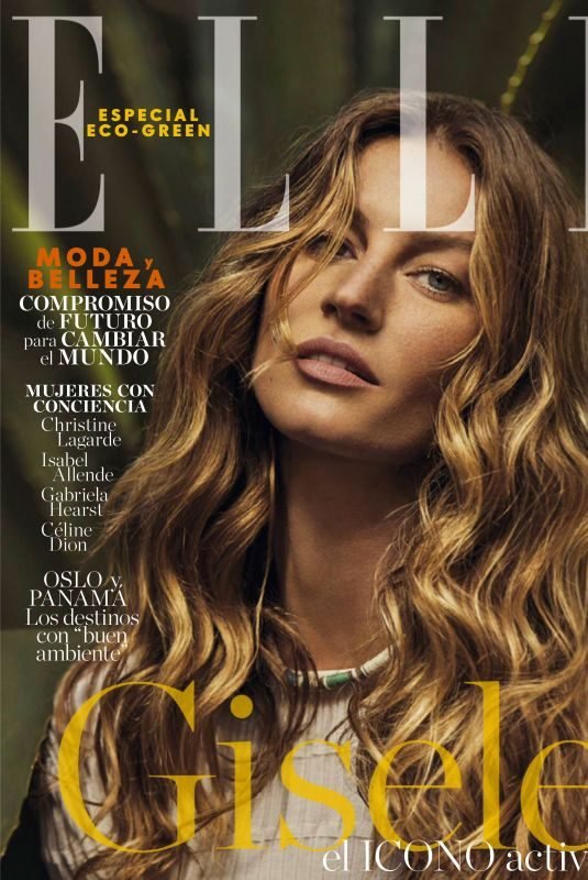 GISELE BUNDCHEN in Elle Magazine, Spain June 2019