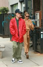 HAILEY and Justin BIEBER Out for Lunch in New York 05/03/2019