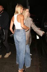 HAILEY BIEBER Leaves The Levi