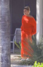 HAILEY BIEBER on the Set of a Photoshoot in Hollywood 05/17/2019