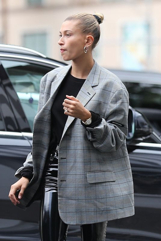 HAILEY BIEBER Out for Coffee in Beverly Hills 05/16/2019