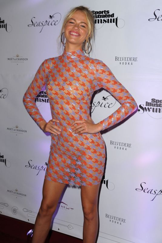 HAILEY CLAUSON at Sports Illustrated Swimsuit 2019 Launch in Miami 05/10/2019