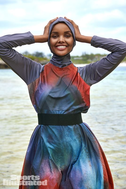 HALIMA ADEN in Sports Illustrated Swimsuit 2019 Issue