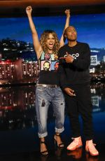 HALLE BERRY at Jimmy Kimmel Live 05/22/2019