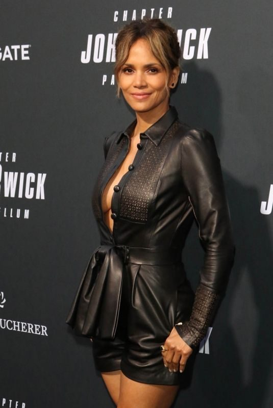 HALLE BERRY at John Wick: Chapter 3 – Parabellum Premiere in Hollywood 05/15/2019