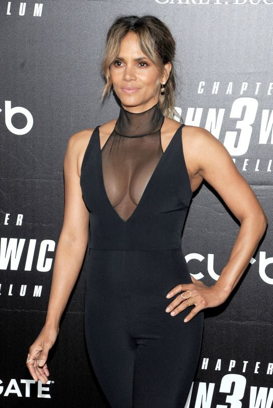 HALLE BERRY at John Wick: Chapter 3 – Parabellum Premiere in New York 05/09/2019