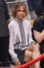 HALLE BERRY at Keanu Reeves Hands and Footprints Ceremony at TCL Chinese Theatre in Hollywood 05/14/2019