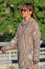 HALLE BERRY Out for Lunch in Studio City 05/25/2019