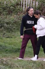HANA CROSS and Brooklyn Beckham Out in London 05/05/2019