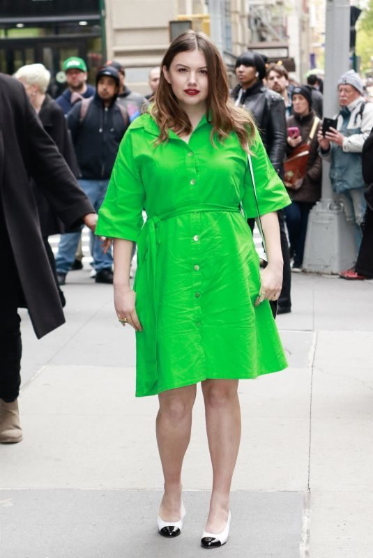 HANNAH MURRAY Arrives at AOL Build Series in New York 05/01/2019