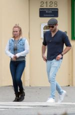 HAYDEN PANETTIERE and Brian Hickerson Out in Los Angeles 05/15/2019