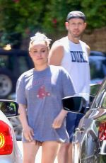 HAYDEN PANETTIERE at a Gas Station in Los Angeles 05/16/2019